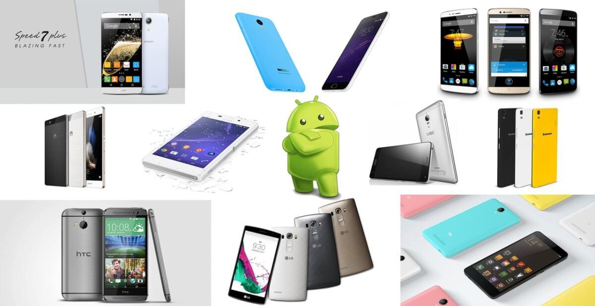 TOP 10 nejlepších Androidích telefonů střední třídy 2015