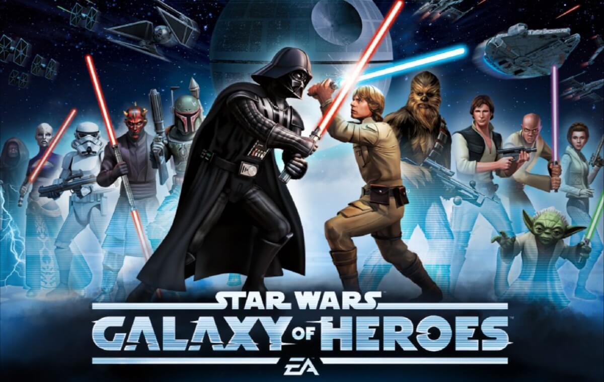 Star Wars: Galaxy of Heroes přichází se zábavnými tahovými souboji