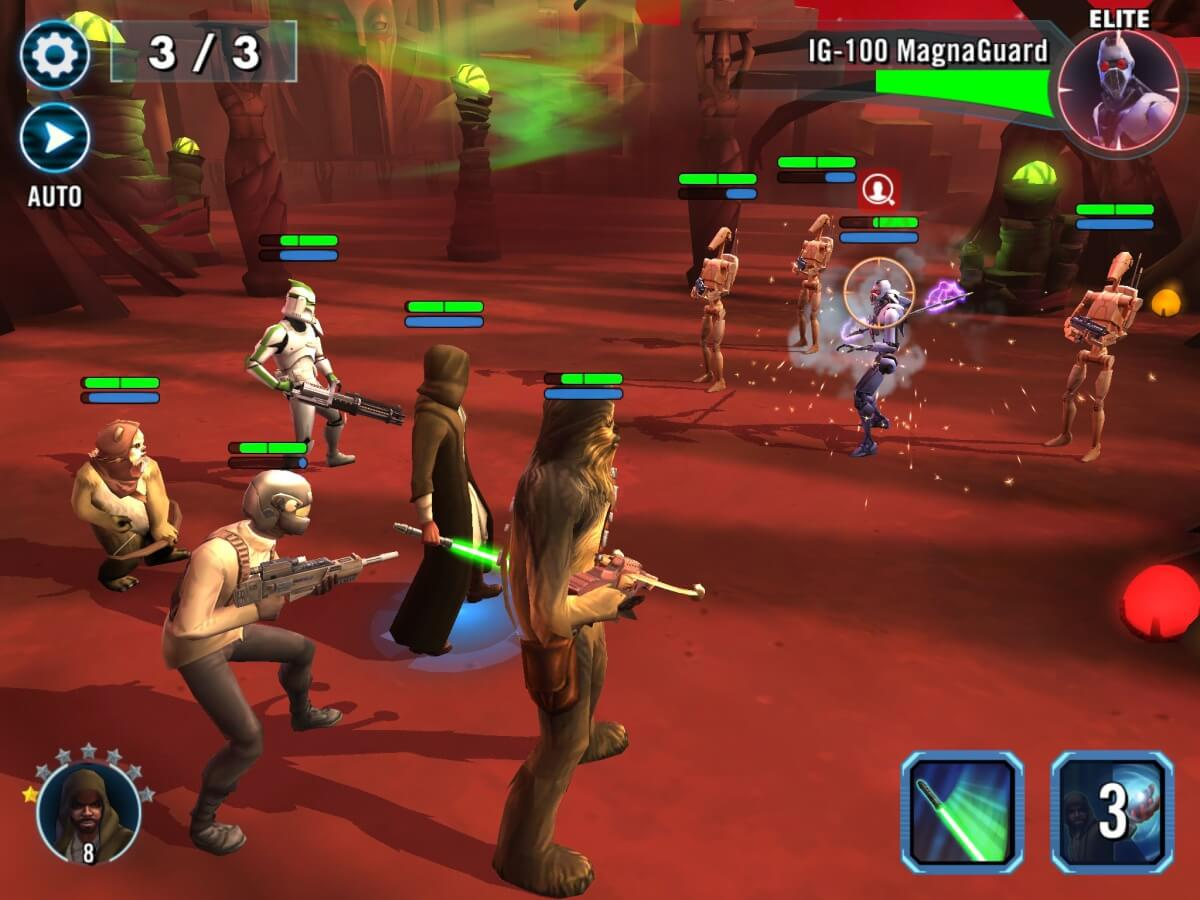 Star Wars: Galaxy of Heroes se inspirovala připravovaným filmem Star Wars: The Force Avakens