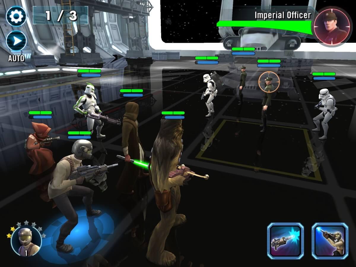 Star Wars: Galaxy of Heroes přináší velkou spoustu hrdinů i možností jejich vylepšení