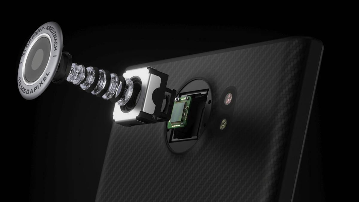 BlackBerry Priv kamera