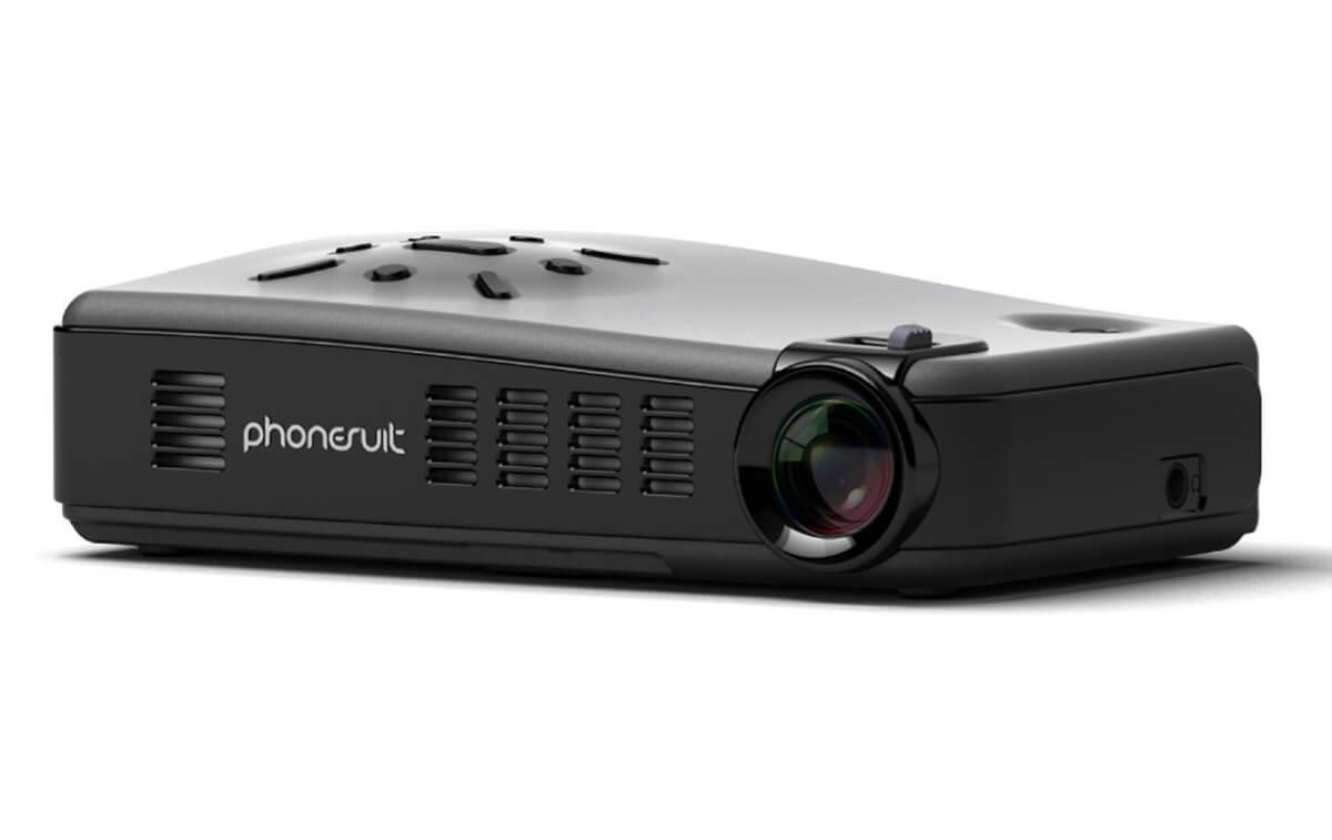 PhoneSuit Lightplay - miniaturní projektor který se vejde do dlaně