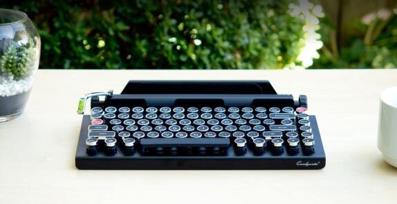 klávesnice Qwerkywriter