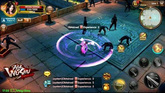 Age of Wushu je nová povedená MMORPG hra na Android