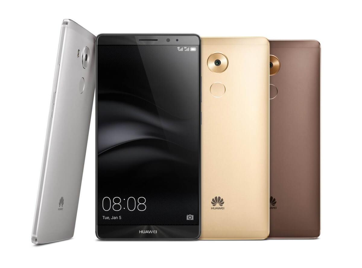 Huawei Mate 8 varianty