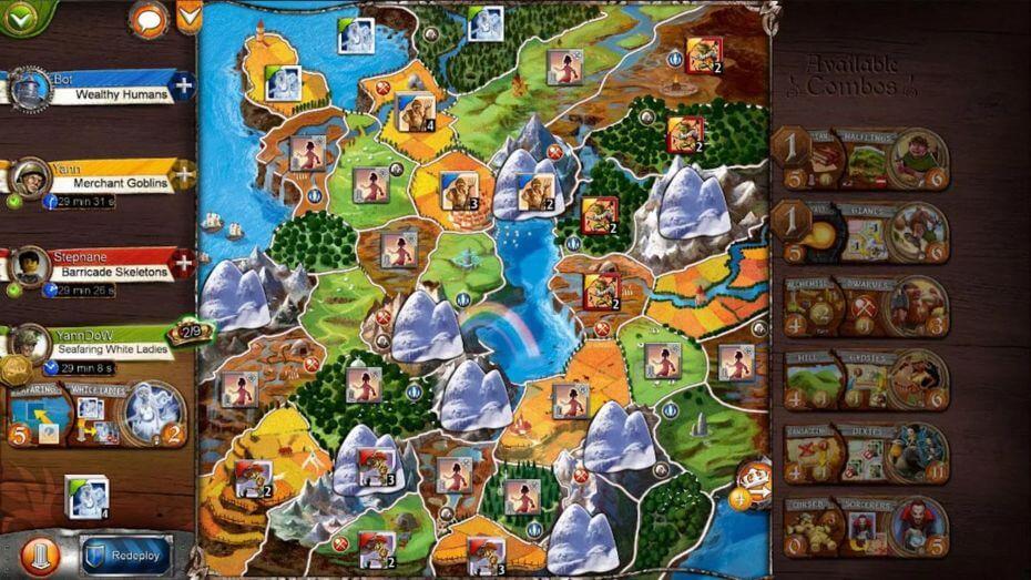 Kdo  nezná Small World 2 - jednu z nejlepších deskových her všech dob?