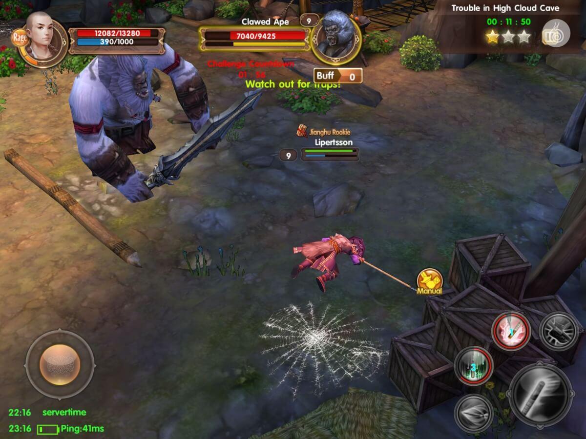 Age of Wushu Dynasty je jedna z nejrozsáhlejších MMORPG her pro Android