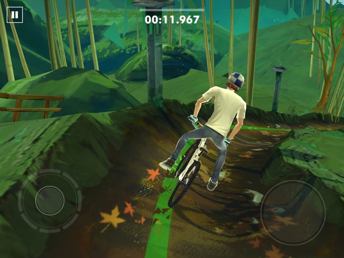 Android hra Bike Unchained vás bude bavit