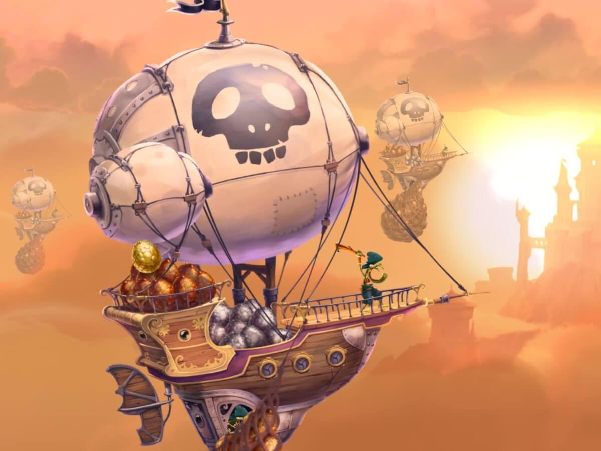 V Rayman Adventures sbíráte vajíčka