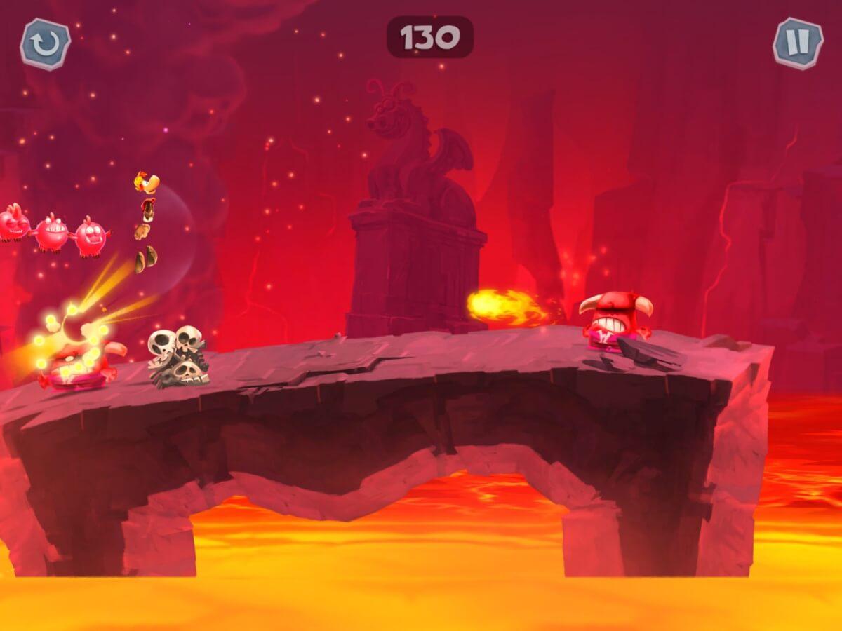 Rayman Adventures je ručně malovaná hra pro Android