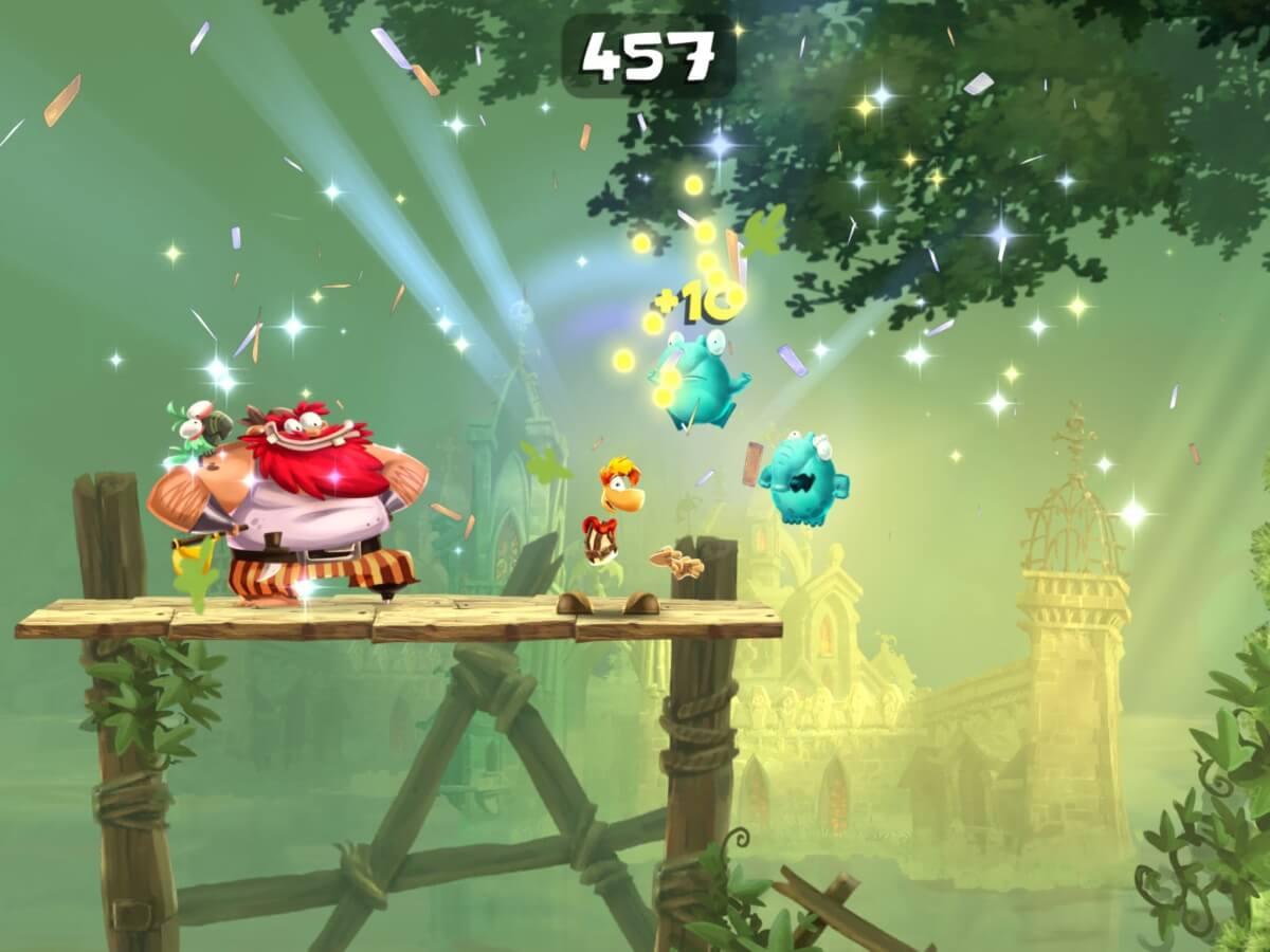 Rayman Adventures pro Android můžete stáhnout a hrát zdarma