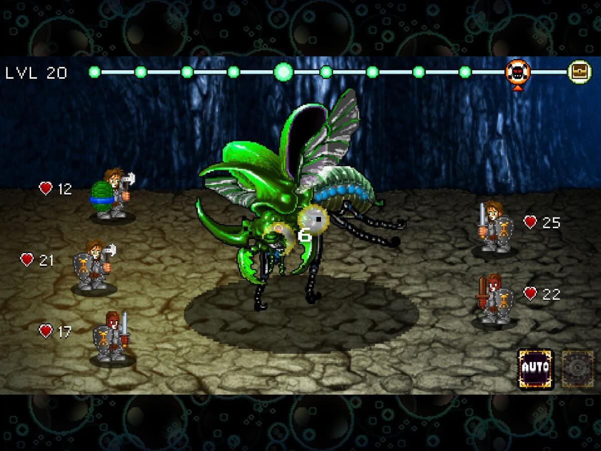 Soda Dungeon je jedna z nejlepší RPG her s tahovými souboji