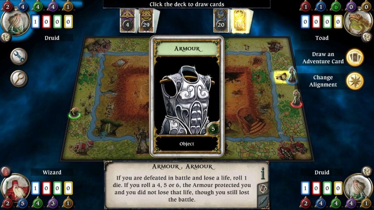 Talisman j absolutní klasikou mezi deskovými hrami a nyní je i na Androidu