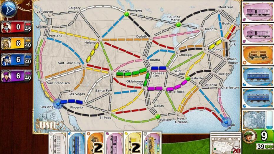 Ticket to ride vás zavede do světa železnice a nechá vás vybudovat své vlastní dopravní impérium