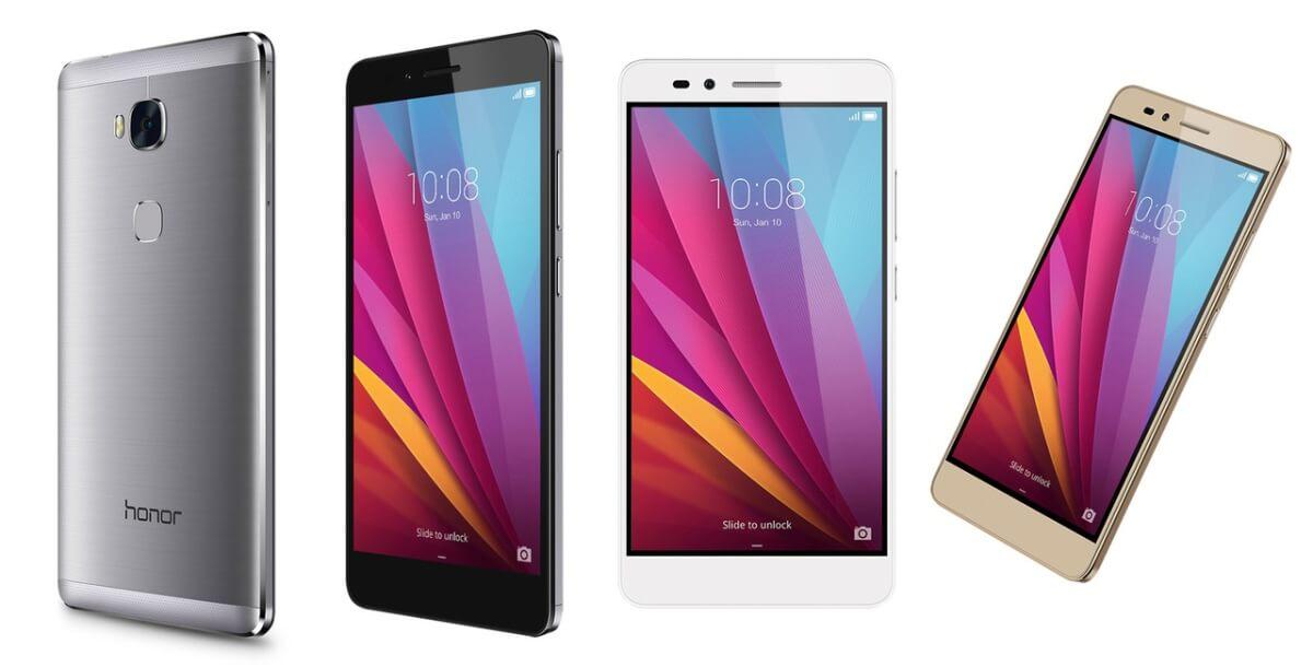 Huawei Honor 5X varianty