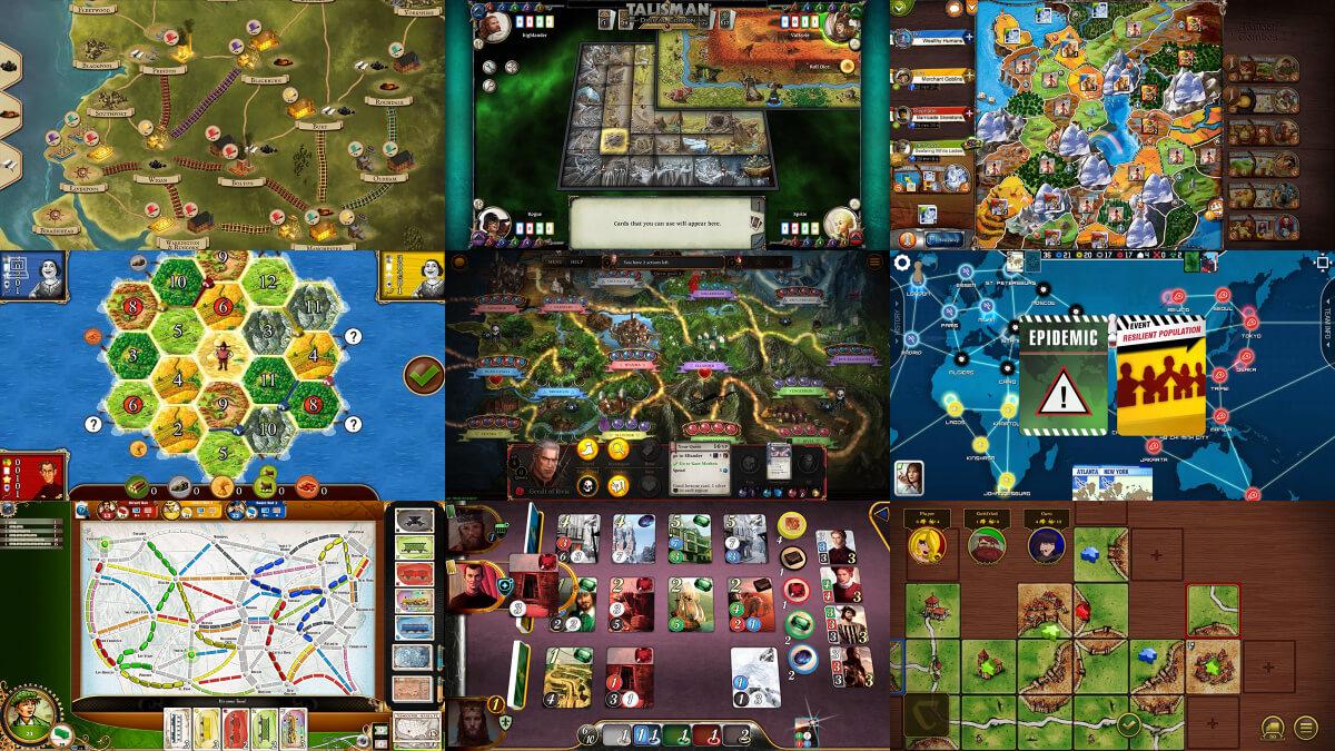 Nejlepší deskové hry pro Android které si můžete zahrát na svém telefonu či tabletu 2016