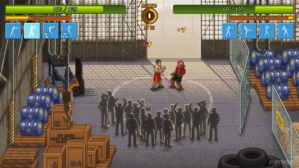 Punch Club je Android hra, ve které se budete starat o bojovníka a budete vyhrávat zápasy