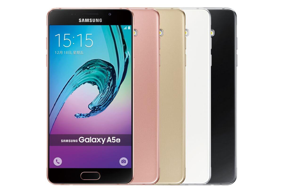 Samsung Galaxy A5 (2016) varianty