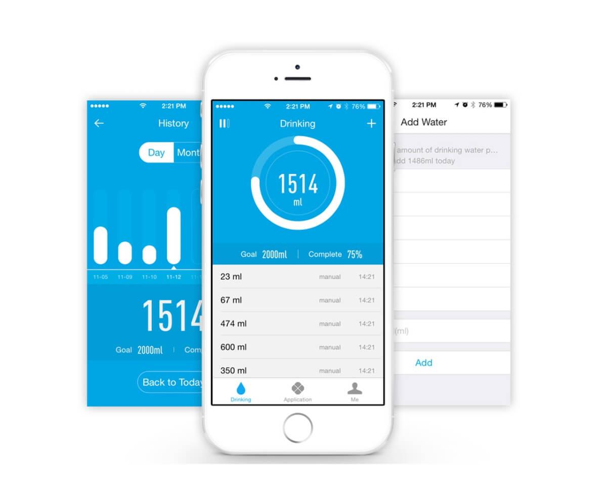 Androidí aplikace k chytré termosce Seed