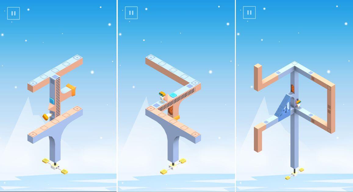 Evo Explores je Android hra s optickými klamy