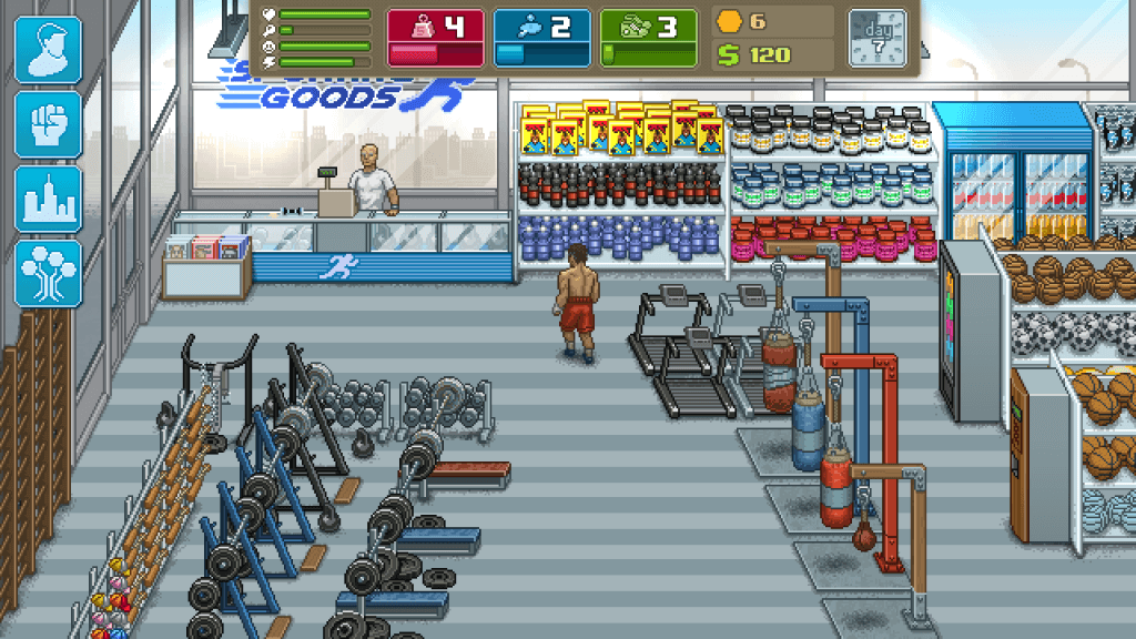 Punch Club je RPG hra pro Android