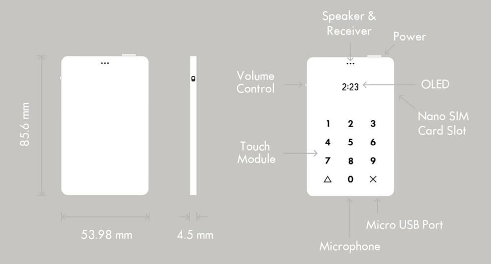 Nejmenší telefon na trhu? Light Phone