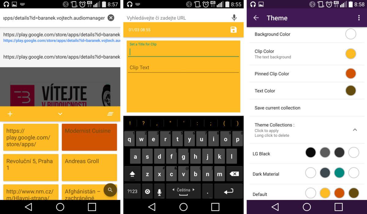 Aplikace Native Clipboard rozšíří možnosti systémového clipboardu