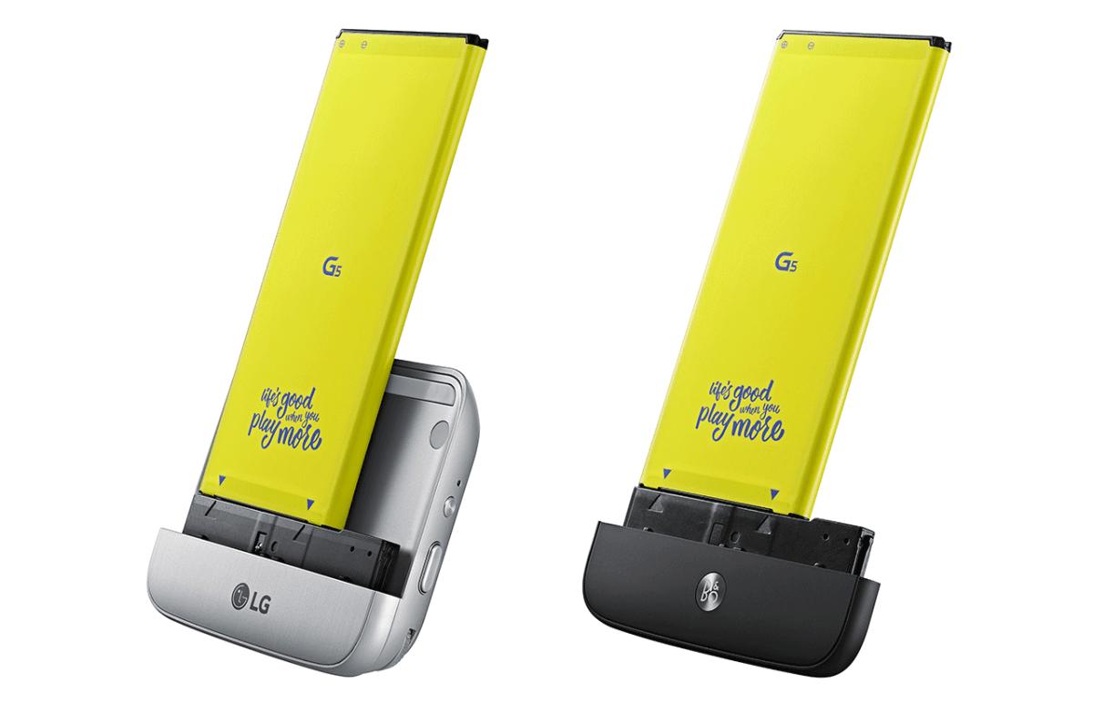 LG G5 moduly