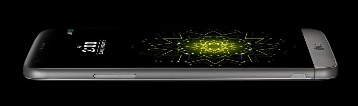 LG G5 z boku