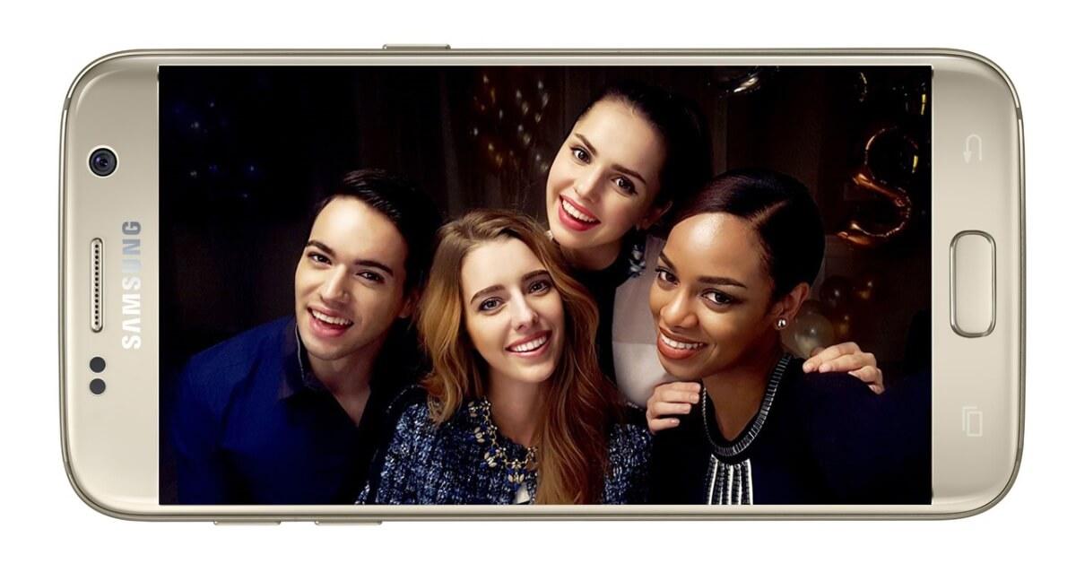 Samsung Galaxy S7 displej