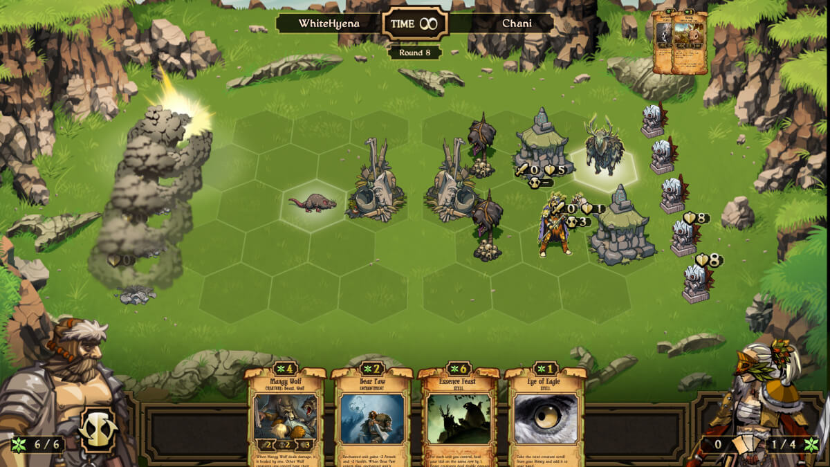 Scrolls vypadá a hraje se jako Heroes of Might and Magic
