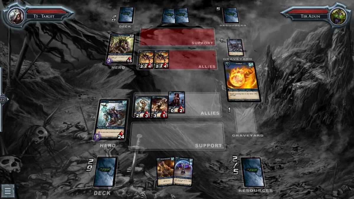 Shadow Era je sběratelská karetní hra pro Android