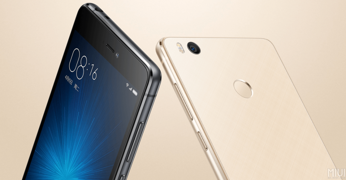 Xiaomi Mi 4s detail