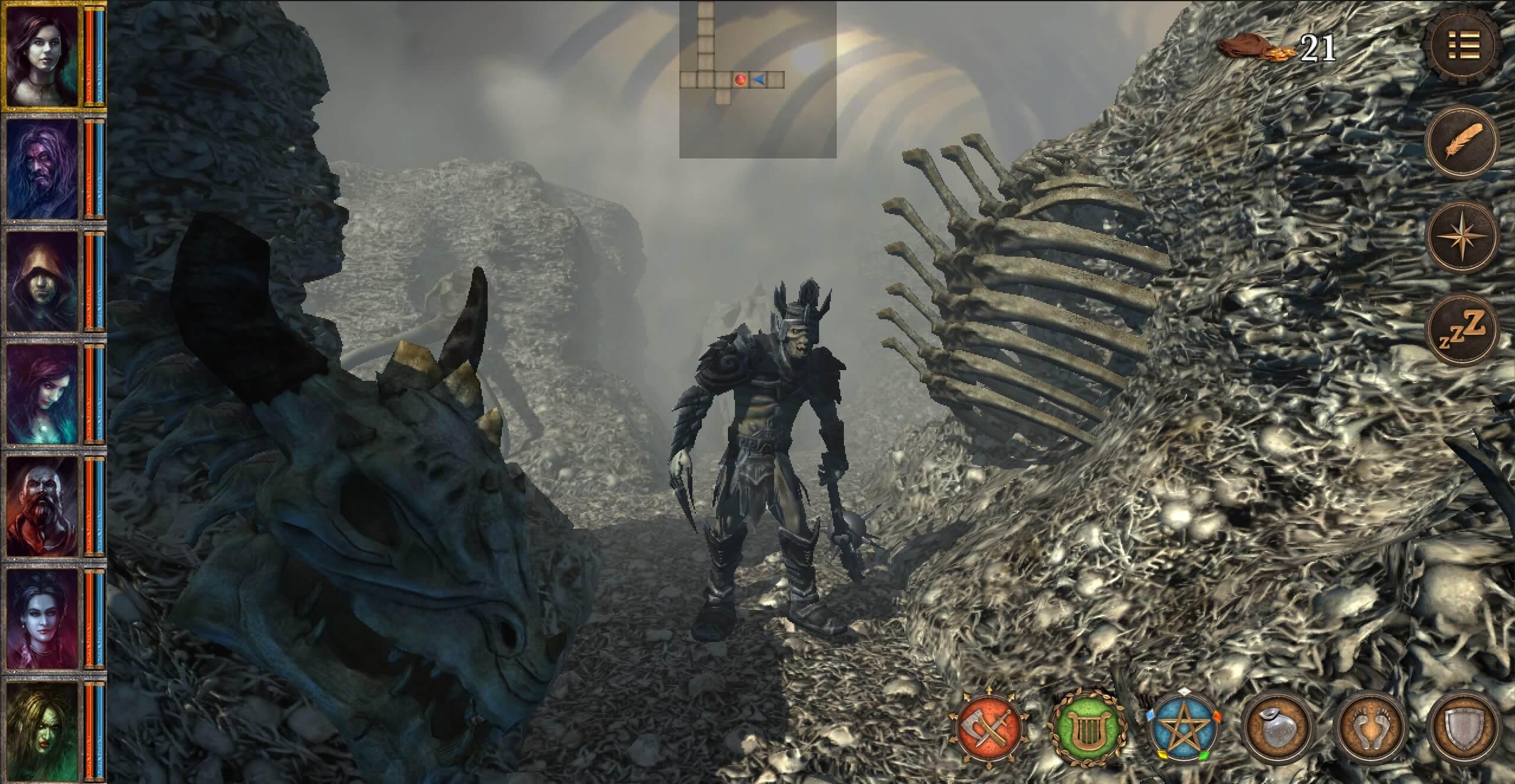 Brány Skeldalu: 7 Mágů je klasické RPG a krokovací dungeon v jednom balení
