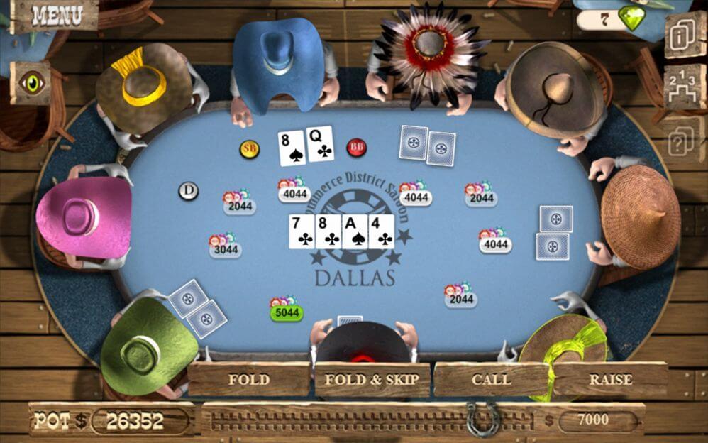 Governor of Poker je karetní hra z amerického středozápadu