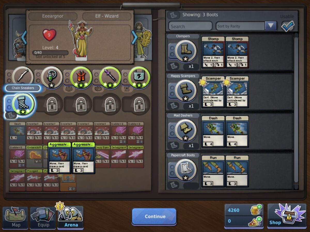Loot & Legends - výběr kartiček je vskutku originální