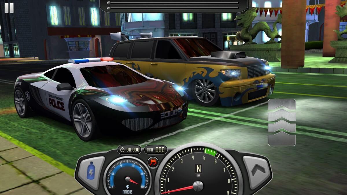 Top Speed - S policajty na startovní čáře
