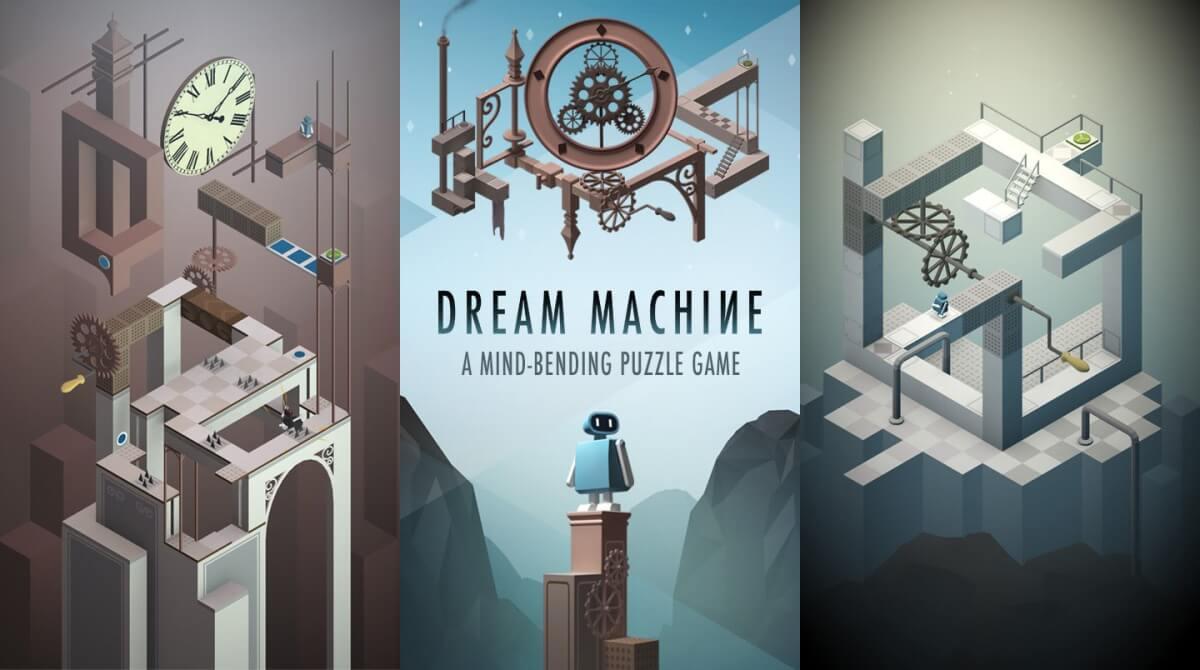 Dream Machine je výborná logická hra na android která se inspirovala hrou Monument Valley