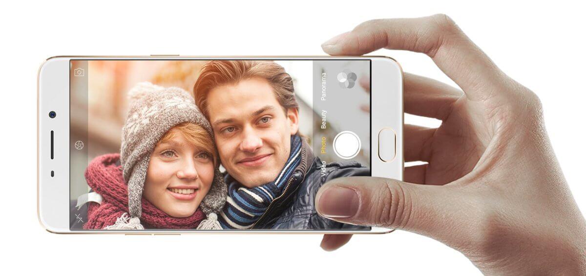 Oppo F1 Plus selfie