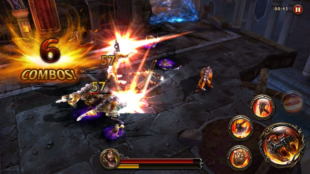 Eternity Warriors 4 - skvělé akční RPG pro mobily s Androidem