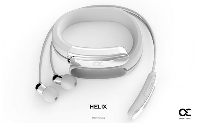 Helix náramková sluchátka
