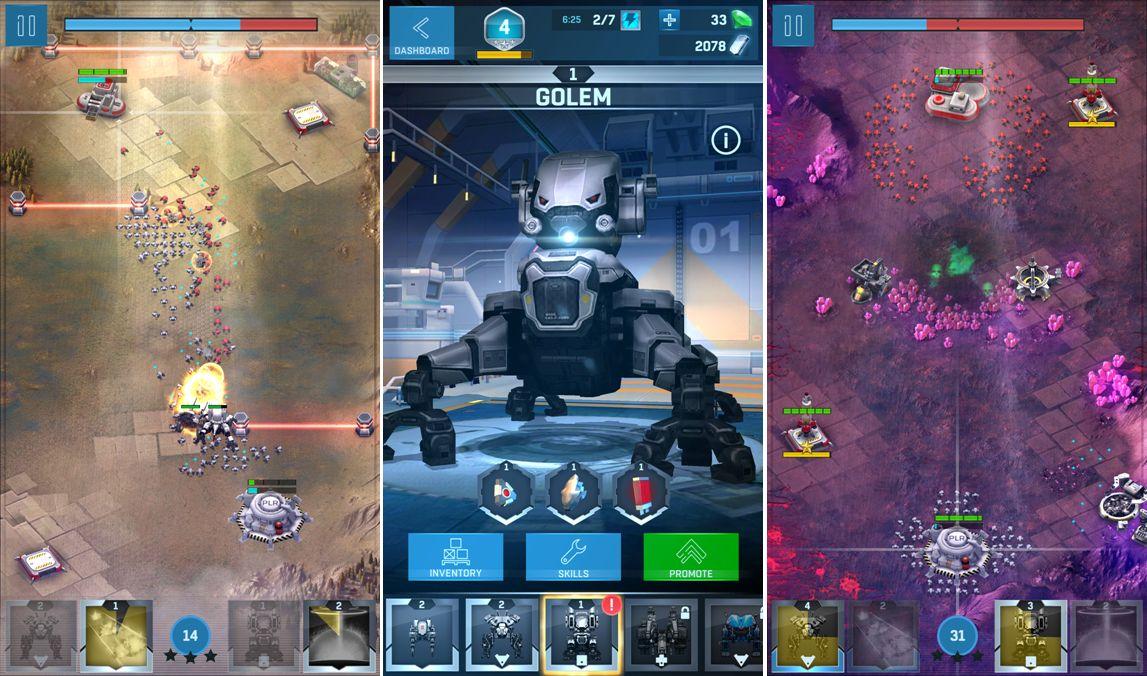 Robocide - válečná RTS pro Android