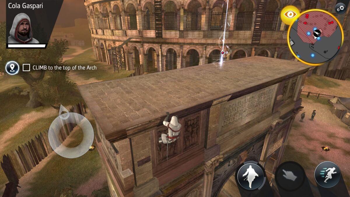 Assassin's Creed Identity - takhle šplhají skuteční machři