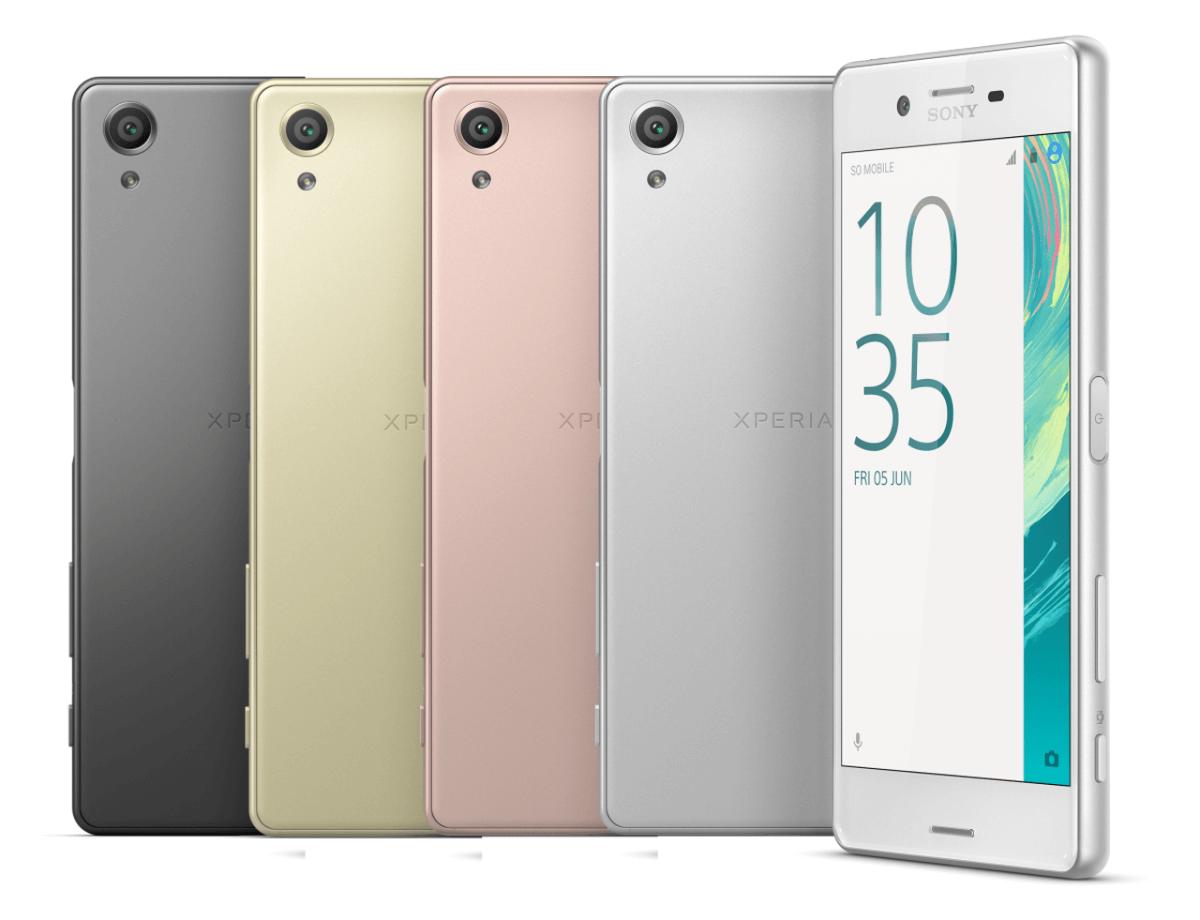 Sony Xperia X varianty