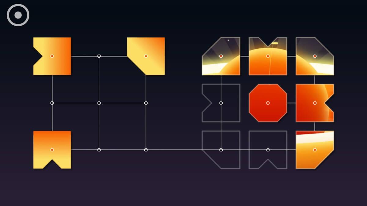 Zenge - logická hra, ve které skládáte obrázky