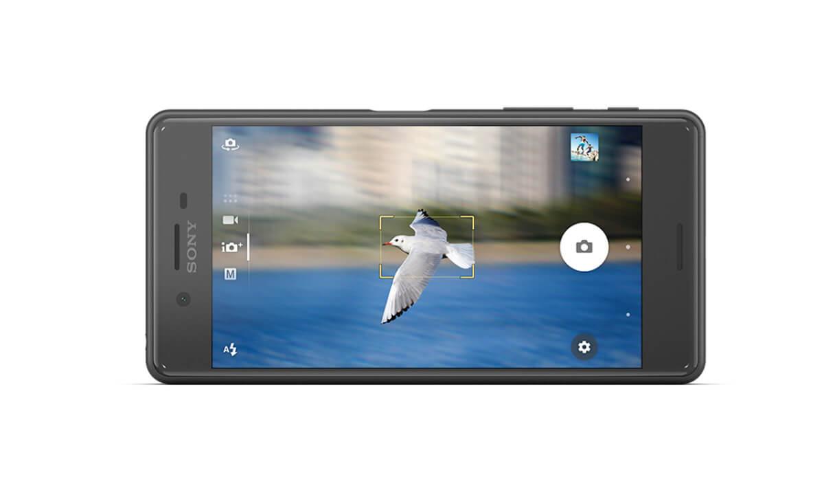 Sony Xperia X Performance fotoaplikace