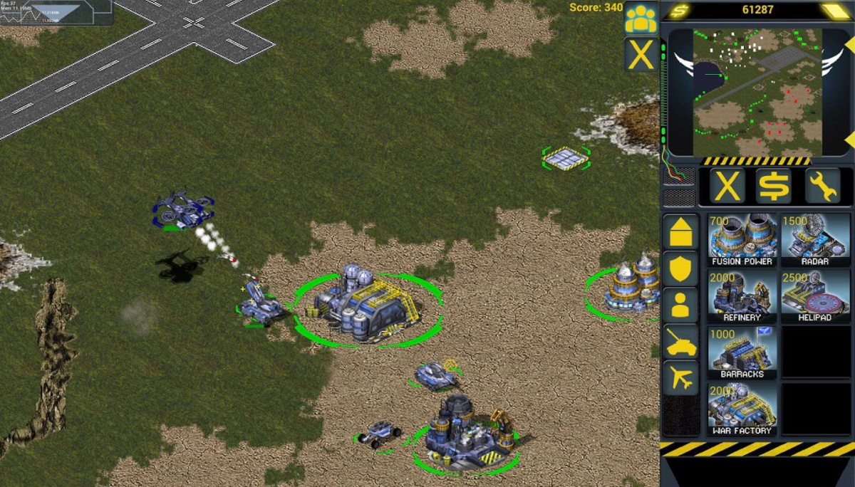 RedSun RTS - inspiraci v Command and Conquere: Red Alert nezapře