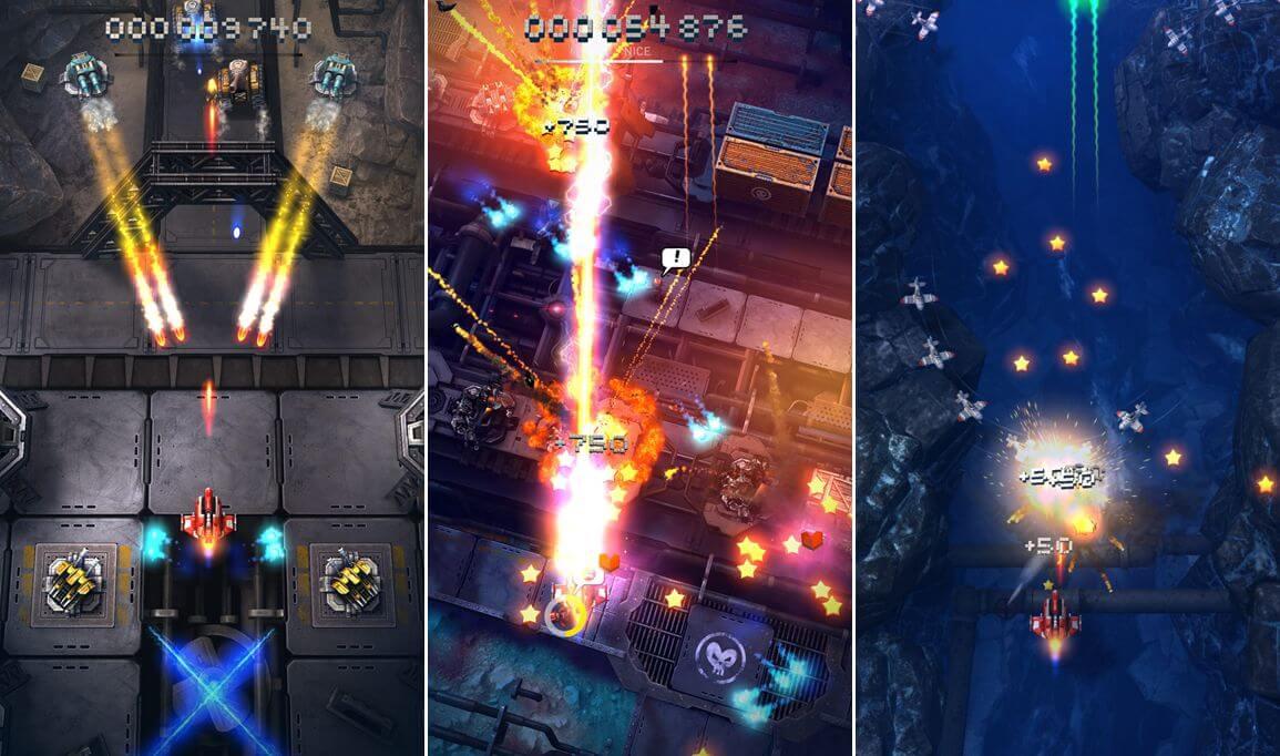 Sky Force Reloaded - na konci levelu přijde i boss