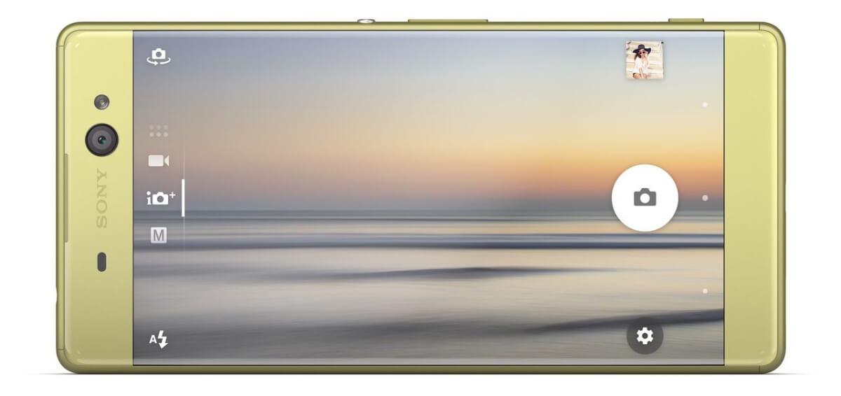 Sony Xperia XA Ultra fotoaplikace