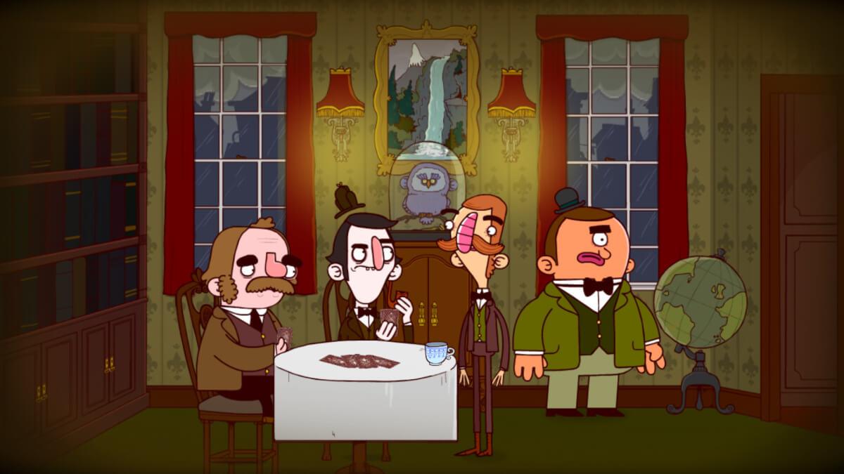 Bertram Fiddle - vítejte na hostině